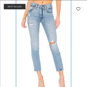 Levi 501 skinny in Can't touch this